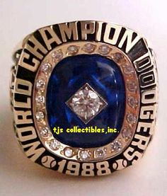 1988 LA Dodgers WS Championship Ring 11.2020 Dodgers Girl, Dodgers Baseball, World Series Rings, Mlb World Series, Dodgers Nation, Sandy Koufax, Super Bowl Rings, Champs, Rings