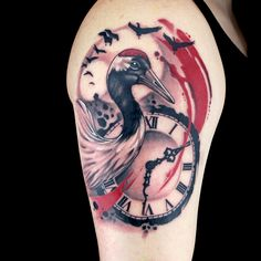Check out this high res photo of Erik Campbell's tattoo from the Trash Polka episode of Ink Master on Spike.com.