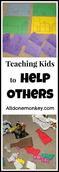 Teaching Kids to Help Others - MLK Day of Service Blog Hop - Alldonemonkey.com