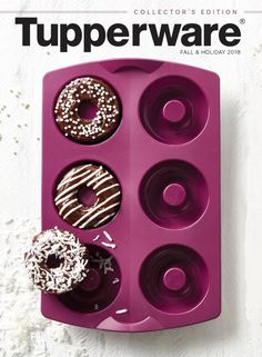 Catalog Cover Tupperware US & Canada Tupperware Consultant, Dark Home Decor, Freezer Meals, Food Storage, Best Gifts, Holiday, Canada, Catalog Cover, Gift Ideas