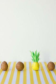 Fun DIY! Itty Bitty Pineapples