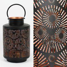 Lanterna Círculos Diâmetro: 26 x 41 cm | A Loja do Gato Preto | #alojadogatopreto | #shoponline | referência 123766162