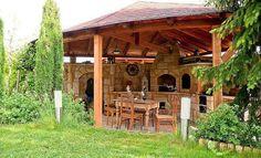 adelaparvu.com despre gratare din piatra, bucatarii de vara, design Zahradni Kuchyne, Cehia (1)