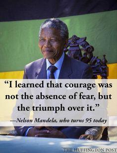 Nelson Mandela--Courage