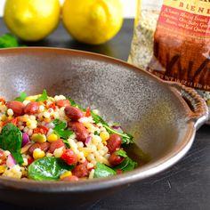 Harvest Grain and Veggie Salad from Taste Love & Nourish