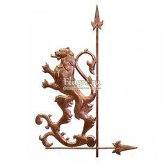 Heraldic lion weathercock  Флюгер Геральдический лев