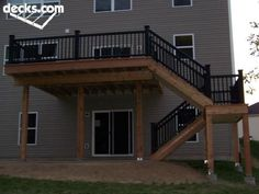 High Decks | High Elevated deck plan | Decor ideas