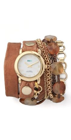La Mer Collections Sedona Stones Watch  This watch is mine as of next Thursday...happy birthday to me :)