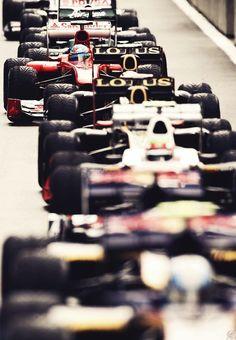 Imágenes espectaculares de la F1