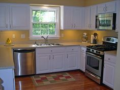 Kitchen Design Ideas For L Shaped Kitchen modern-l-shaped-kitchen | frosted glass, kitchens and sinks
