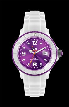 Ice-White - White - purple - Unisex