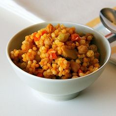 Vegetable and Chickpea Couscous