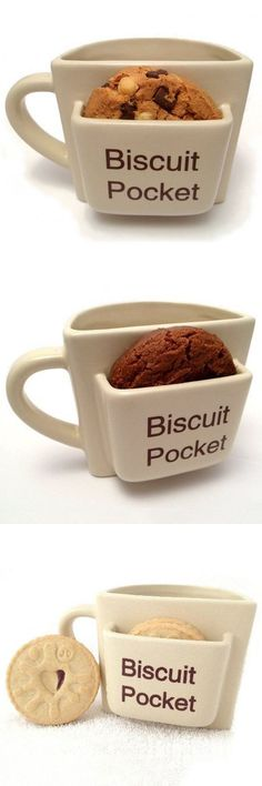 Coffee Mug with cookie tray #biscuit