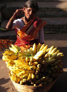 Banana Lady . Mysore