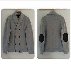 H&M leather patch coat IDR 160k size XL ( fit to XXL )