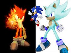 Fire sonic and ice sonic