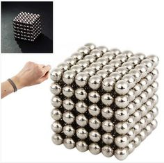 Magnetic Balls Cube Ultimate Stress Relief Toy 3mm 216pcs