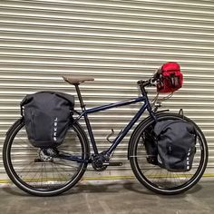 Keep you gear dry with these quality waterproof panniers. Touring Bicycles, Touring Bike, Bike Panniers, Pinion Gear, Urban Bike, Commuter Bike, Cargo Bike, The Great Outdoors, Trailers
