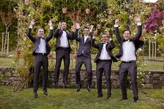 O casamento da Andrea e do Jean-Philippe no Douro. #casamento #Portugal #noivo #padrinhos