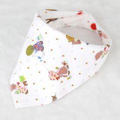 100% Cotton Newborn Baby Bibs Waterproof Bib Burp Cloth For Girls And Boys Double Side Baby Scarf