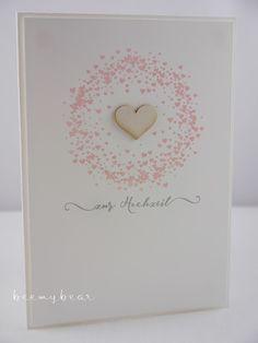 Stampin with Beemybear: Noch Mal Herzchen, Hochzeit, wedding, love, Creative-Depot