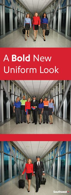 With the last complete redesign in 1996, Southwest has selected a new uniform designed by our very own Employees. Check them out!