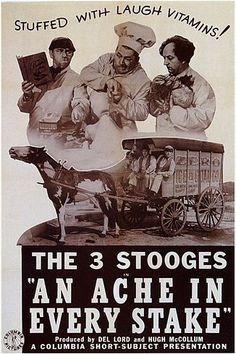 the Three Stooges film An Ache in Every Stake.