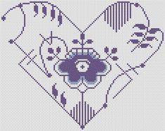 Blue Fluted pattern for cross stitch. Freebie pdf pattern at website. Hama Beads Design, Hama Beads Patterns, Beading Patterns, Embroidery Patterns, Cross Stitching, Cross Stitch Embroidery, Hand Embroidery, Cross Stitch Patterns, Pattern Design