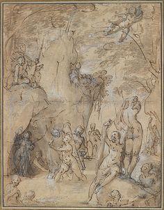 Bartholomeus Spranger (Netherlandish, Antwerp 1546–1611 Prague) | Diana and Actaeon | Date: ca. 1590–95