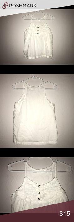 Kardashian Kids white sleeveless top 4T. Kardashian Kids white sleeveless top 4T. . Good condition. No stains. Needs some ironing. Kardashian Kids Shirts & Tops Blouses