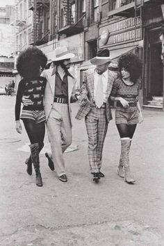 Harlem, New York City in the 1970s | via Facebook