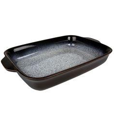 Denby 'Halo' Rimmed Large Oblong Dish: Denby: Amazon.co.uk: Kitchen & Home