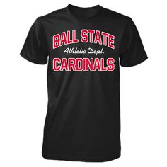 a56dd2e7e Ball State Cardinals Athletic Department Custom T-Shirt #BallState #BSU  #BallStateCardinals #