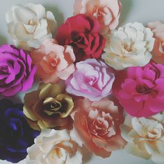Paper Flowers, Rose, Plants, Pink, Plant, Roses, Planets