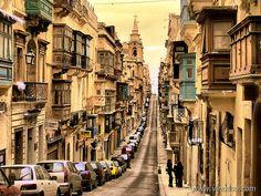 世界遺産 ヴァレッタ市街 ヴァレッタ市街の絶景写真画像  マルタ