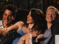 """Cuter Couple: Robin & Ted, or Robin & Barney? ~~Is that a real question? The real question should be """"Ted who? Ted And Robin, Barney And Robin, How I Met Your Mother, Marshall And Lily, Robin Scherbatsky, Ted Mosby, Yellow Umbrella, Himym, Female Friends"""