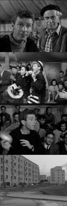 "Richard Basehart plays the ""Fool"" in La Strada 1954 a character who has a strong effect on Gelsomina. His antagonism against the brutal Zampano, however, is his major weakness. The Fool risks his life, not only on a tightrope, but also by taunting Zampano, without thinking about the consequences."