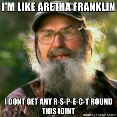 Uncle Si ~ Duck Dynasty hahahhaa