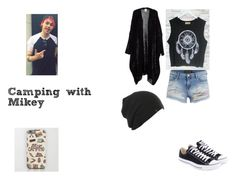 Camping with Micheal by analis-briseno on Polyvore featuring polyvore fashion style Converse clothing