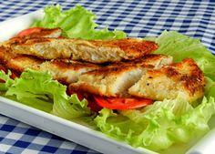 Pitadinha: Peixe empanado no coco