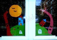 Halloween à la fenêtre