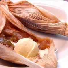 Sweet Apple Dessert Tamales Recipe