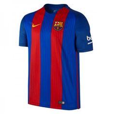 #Barcelona 16-17 Hjemmebanetrøje Kort ærmer,208,58KR,shirtshopservice@gmail.com