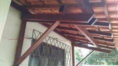 Imagini pentru como fazer mao francesa telhado House Styles, Home Decor, Porch Roof, Rooftops, Ideas, Street, Log Projects, Houses, Decoration Home