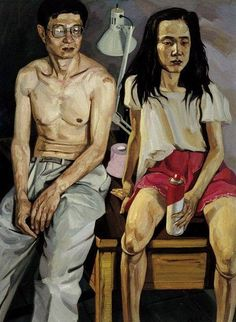 Liu Xiaodong Contemporary Art Artists, Chinese Contemporary Art, Modern Art, Artist Painting, Figure Painting, Sculpture Painting, Painting People, Pintura Tole, Art Chinois