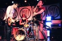 White Belt Yellow Tag performs at BMI's CMJ showcase October 20 at Bar Matchless in Brooklyn.