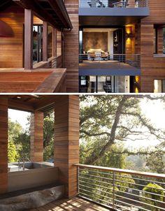 idk what i would do if this were my home id - Terrassen Gelander Design