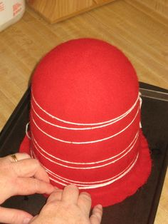 Elizabethan crowned hat making 101