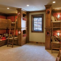 bunk room by Gabriel Builders Inc.