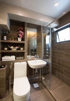 9 Hdb Bathroom Transformations For Every Budget Spaces Toilet And Bathroom Makeovers